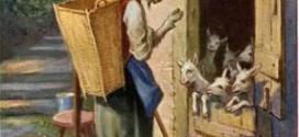 Сказка Der Wolf und die sieben jungen Geißlein