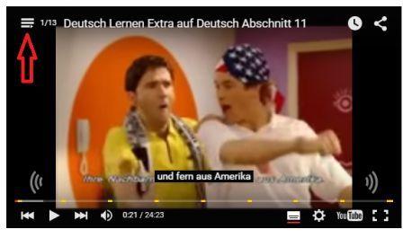 Extra auf Deutsch