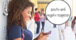 Как выразить позитивную или негативную реакцию