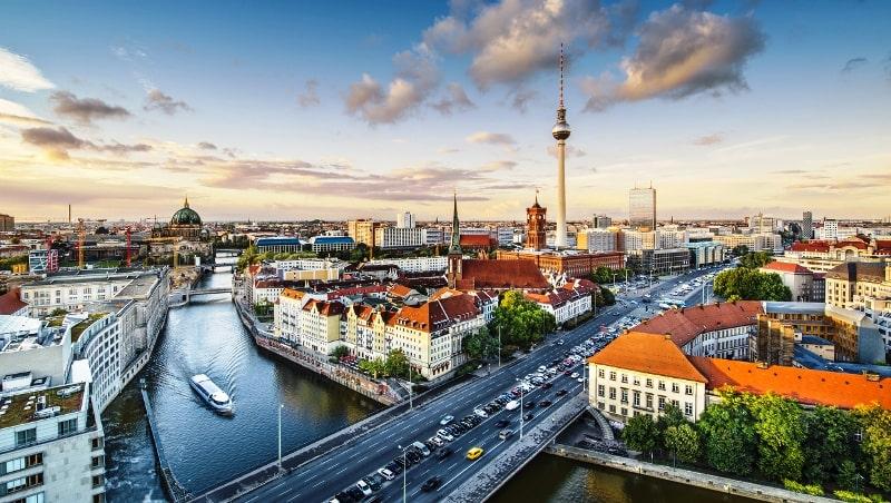Берлин — живописная столица