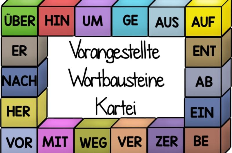Глаголы с отделяемой приставкой
