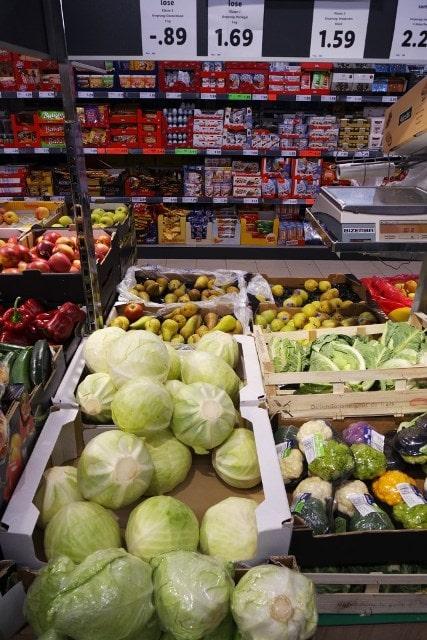 Цена на капусту в Германии